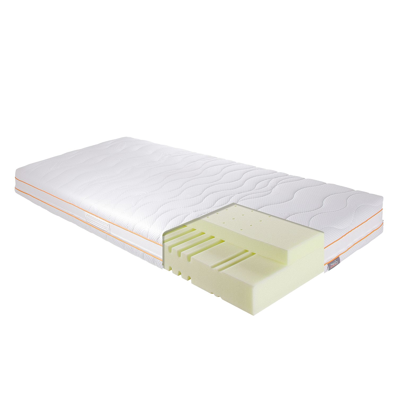 Matelas en mousse confort viscoélastique 7 zones de confort mazzy 20 - 100 x 200cm, mazzy