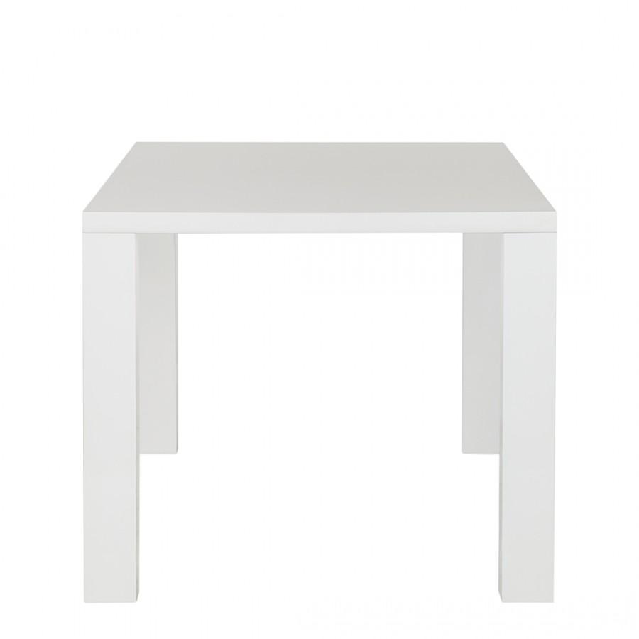 Table de salle à manger Acle II - Blanc brillant, Fredriks