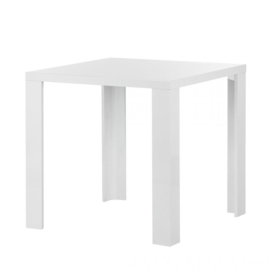 Table de salle à manger Tyne - Blanc brillant, loftscape