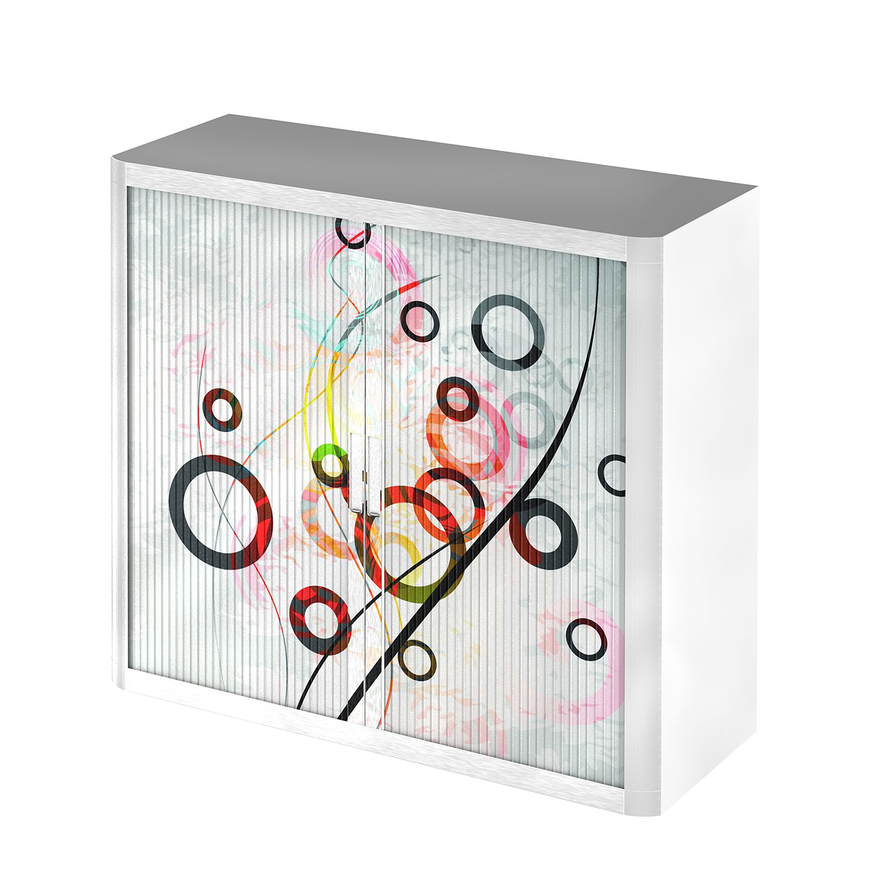 Dossierkast easyOffice Geometrique II - meerdere kleuren - 104cm, easy Office und Paperflow