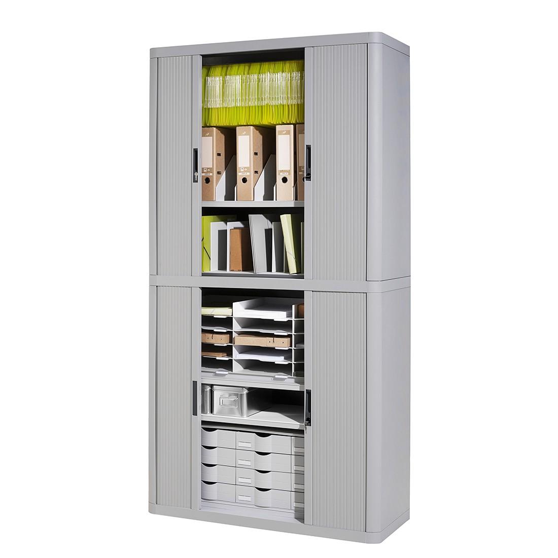 Dossierkast easyOffice - Grijs - 204cm, easy Office und Paperflow