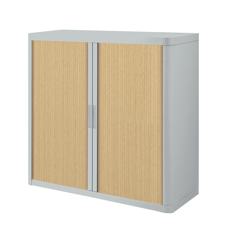 Dossierkast easyOffice - Grijs/beukenhoutkleurig - 104cm, easy Office und Paperflow