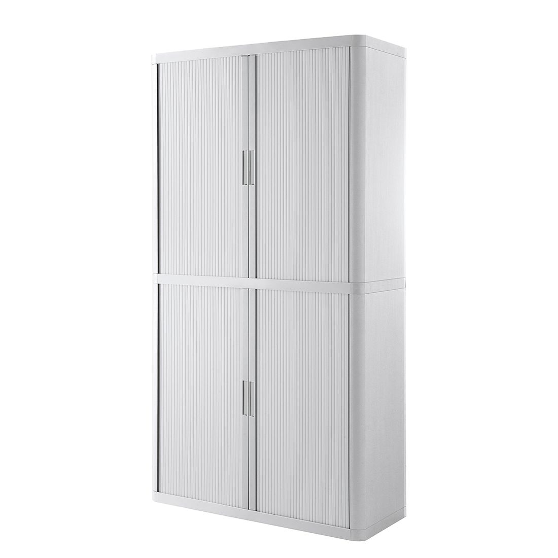Armadio archivio easyOffice - Bianco - 204 cm, easy Office und Paperflow