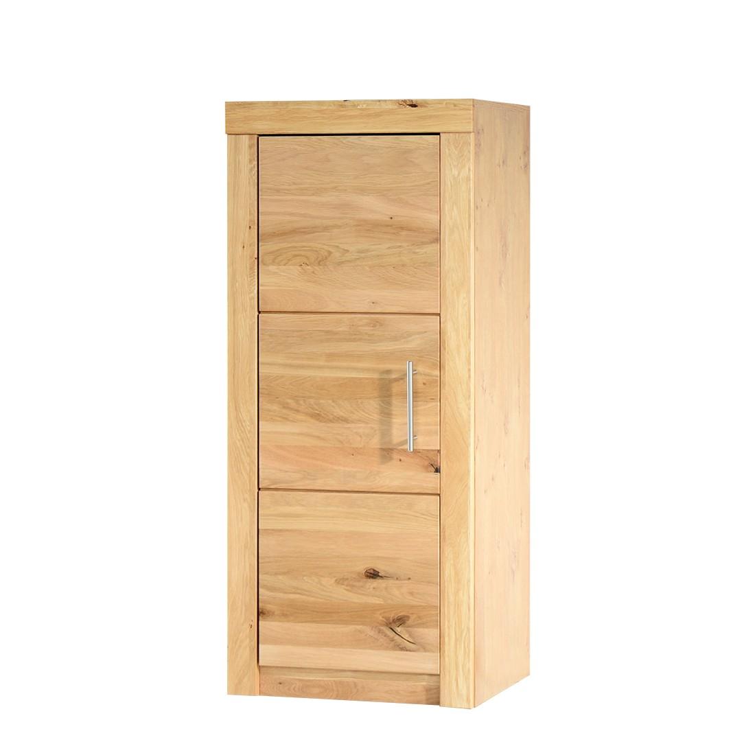 Armadio archivio Jochen I - Parzialmente in legno massello di quercia selvativa, home24 office