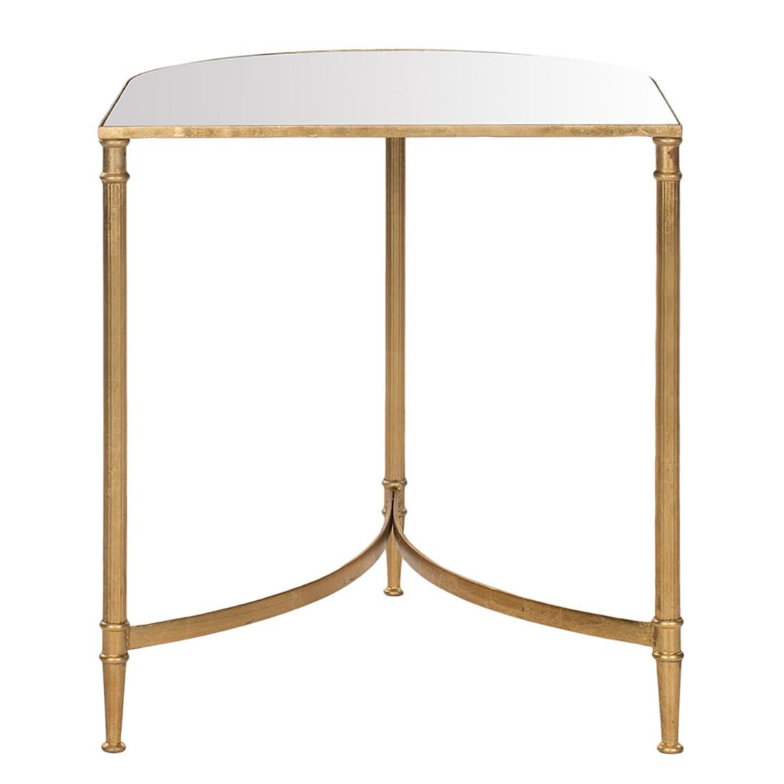 Tavolino Nevin - Ferro color oro/Specchio, Safavieh