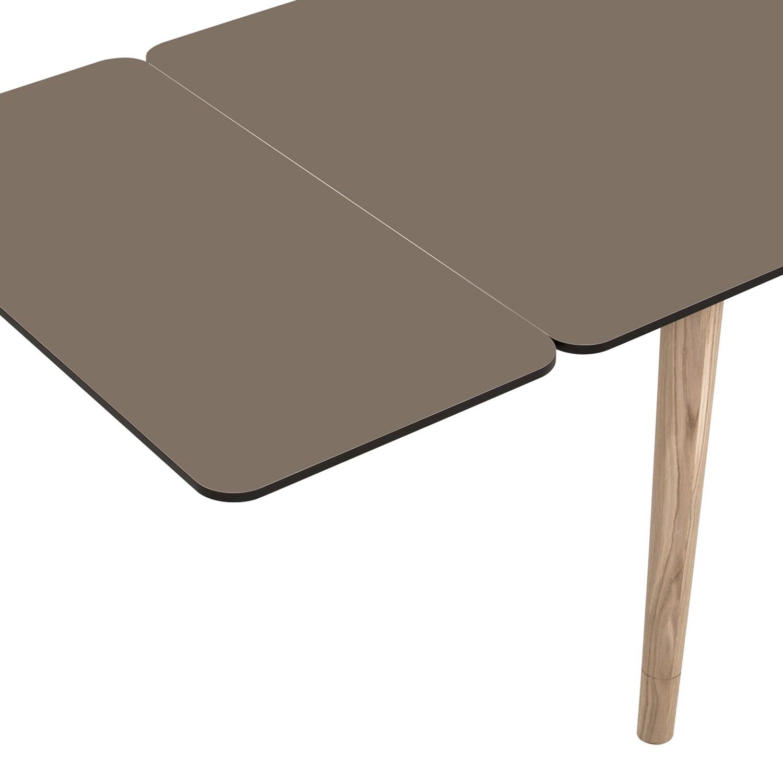 Ansteckplatte Helvig - Taupe / Schwarz