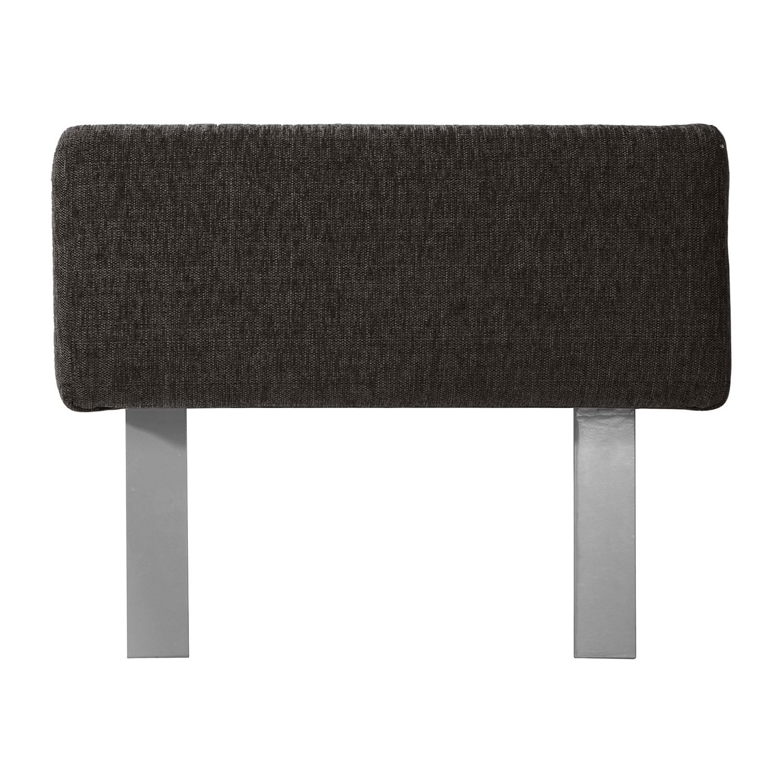 Arm- en rugleuningelement Roxbury - geweven stof - 60cm - 60 x 30 cm - Stof Kiara Grijs-Bruin, Studio Copenhagen