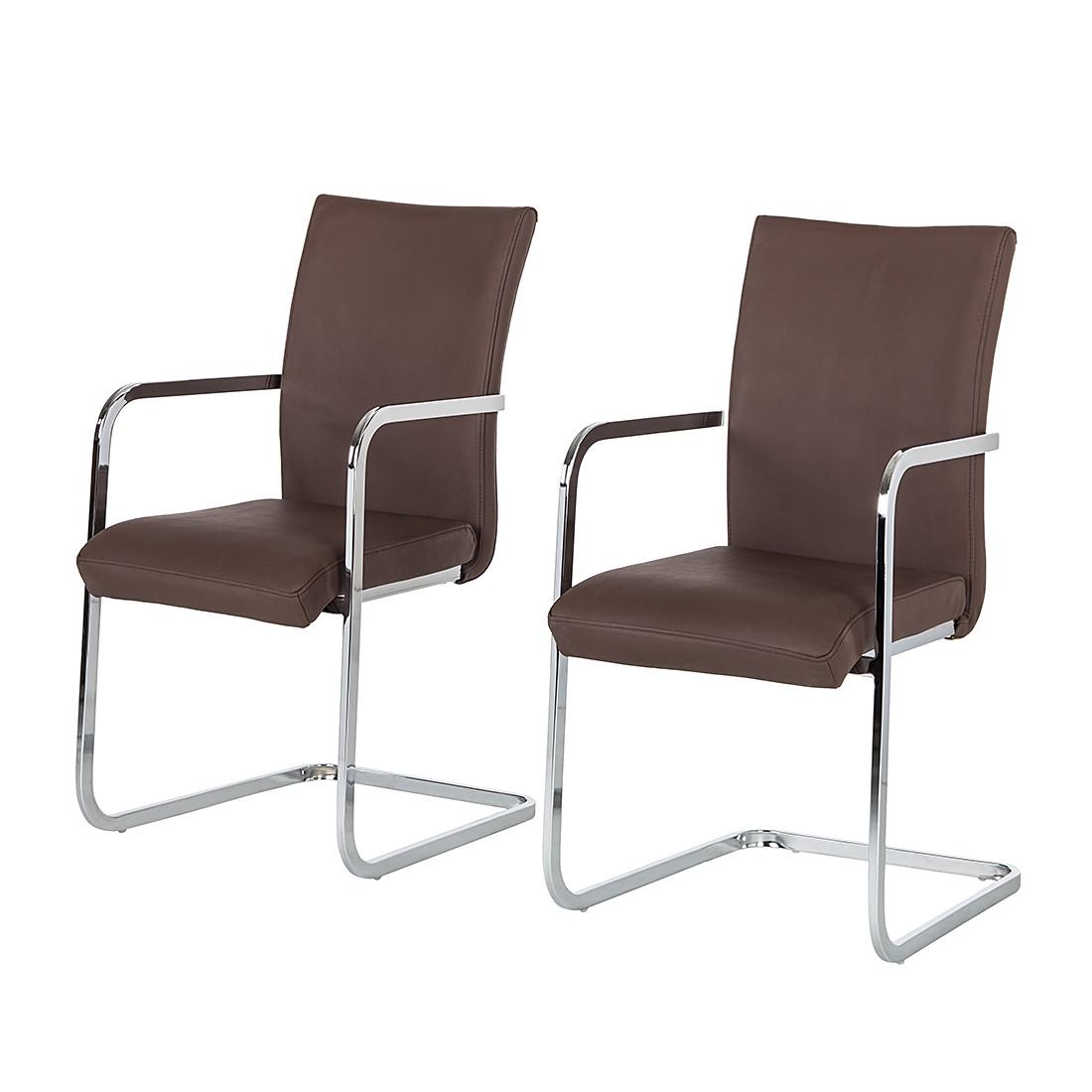 schwingstuhl mit armlehne leder preisvergleich die besten angebote online kaufen. Black Bedroom Furniture Sets. Home Design Ideas