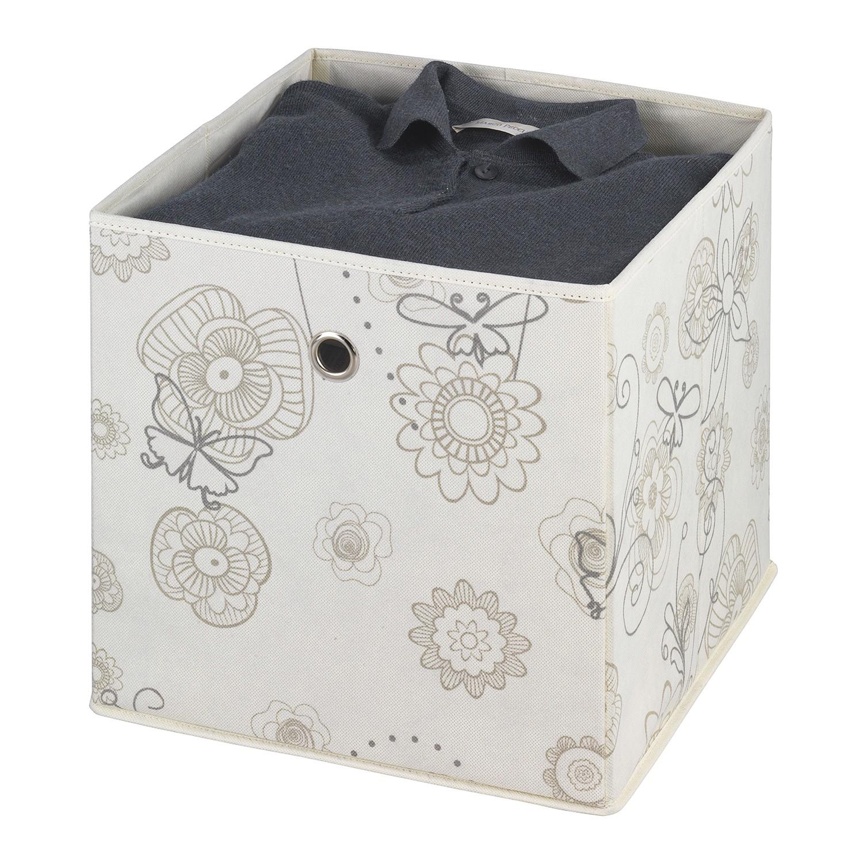 Aufbewahrungsbox Butterfly (3er-Set) - Webstoff...