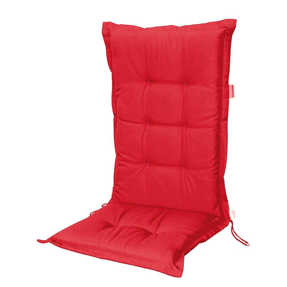 auflage panama i f r niederlehner webstoff rot madison g nstig. Black Bedroom Furniture Sets. Home Design Ideas