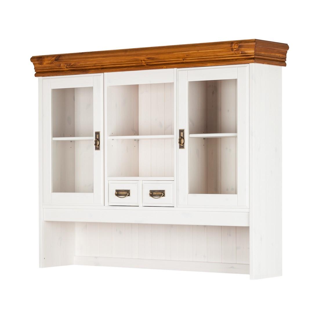Home 24 - Élément supplémentaire formentera - pour bahut - blanc / couleur miel, maison belfort