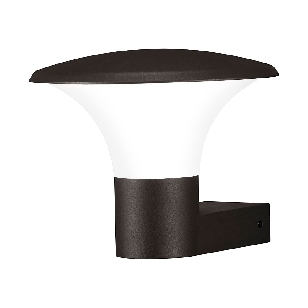 EEK A++, LED-Außenleuchte Kongo 1-flammig - Aluminium Kunststoff - Silber, Trio