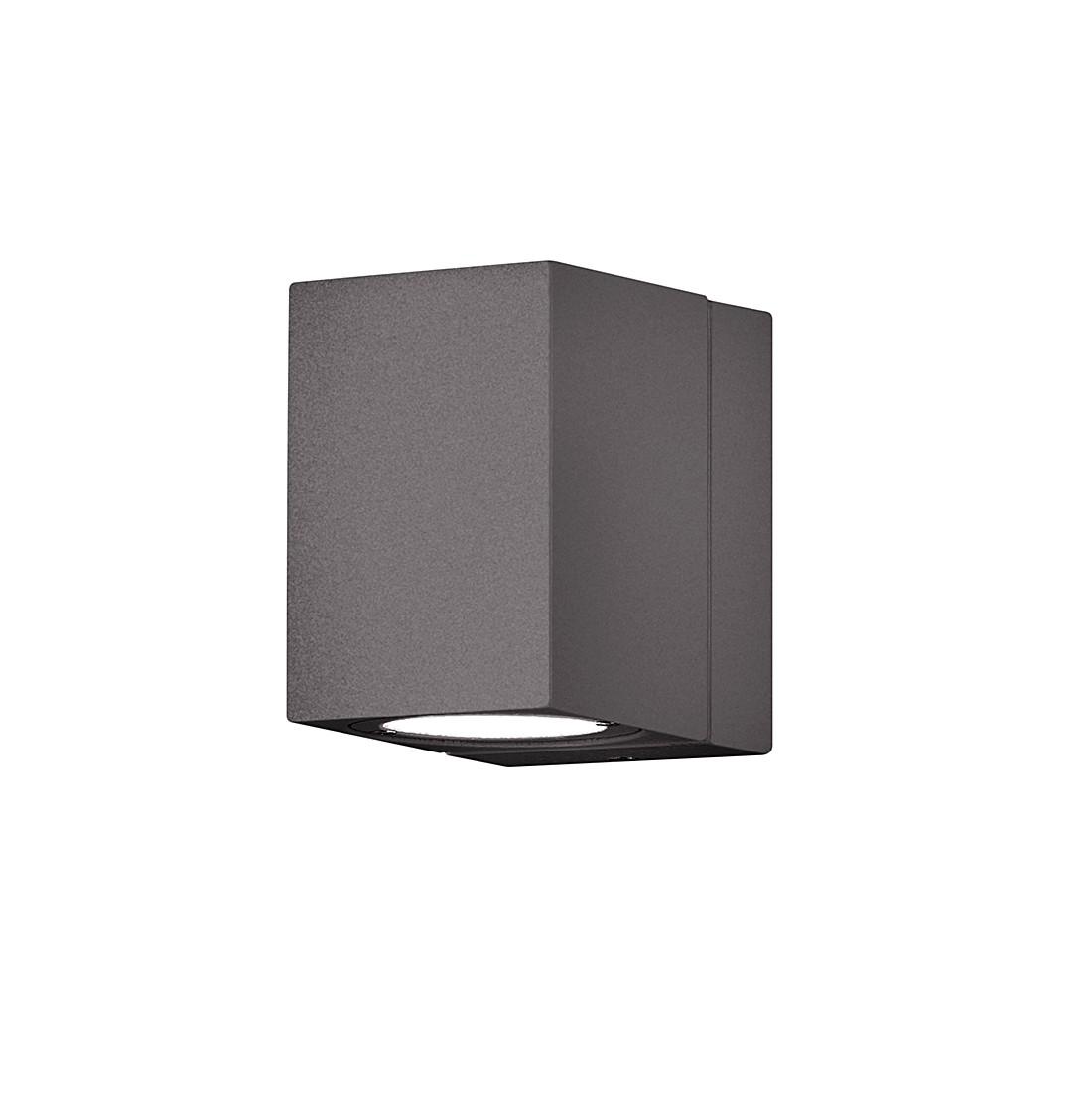 EEK A+, LED-Außenleuchte Tiber - Aluminium / Kunststoff - Anthrazit - 1-flammig, Trio