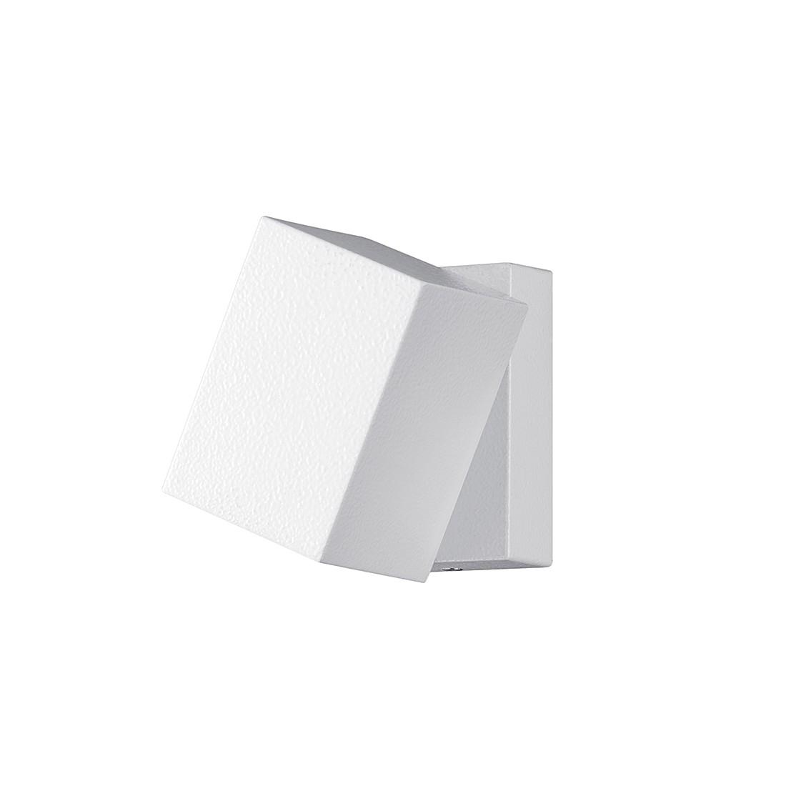 EEK A+, LED-Außenleuchte Tiber - Aluminium / Kunststoff - Weiß - 1-flammig, Trio