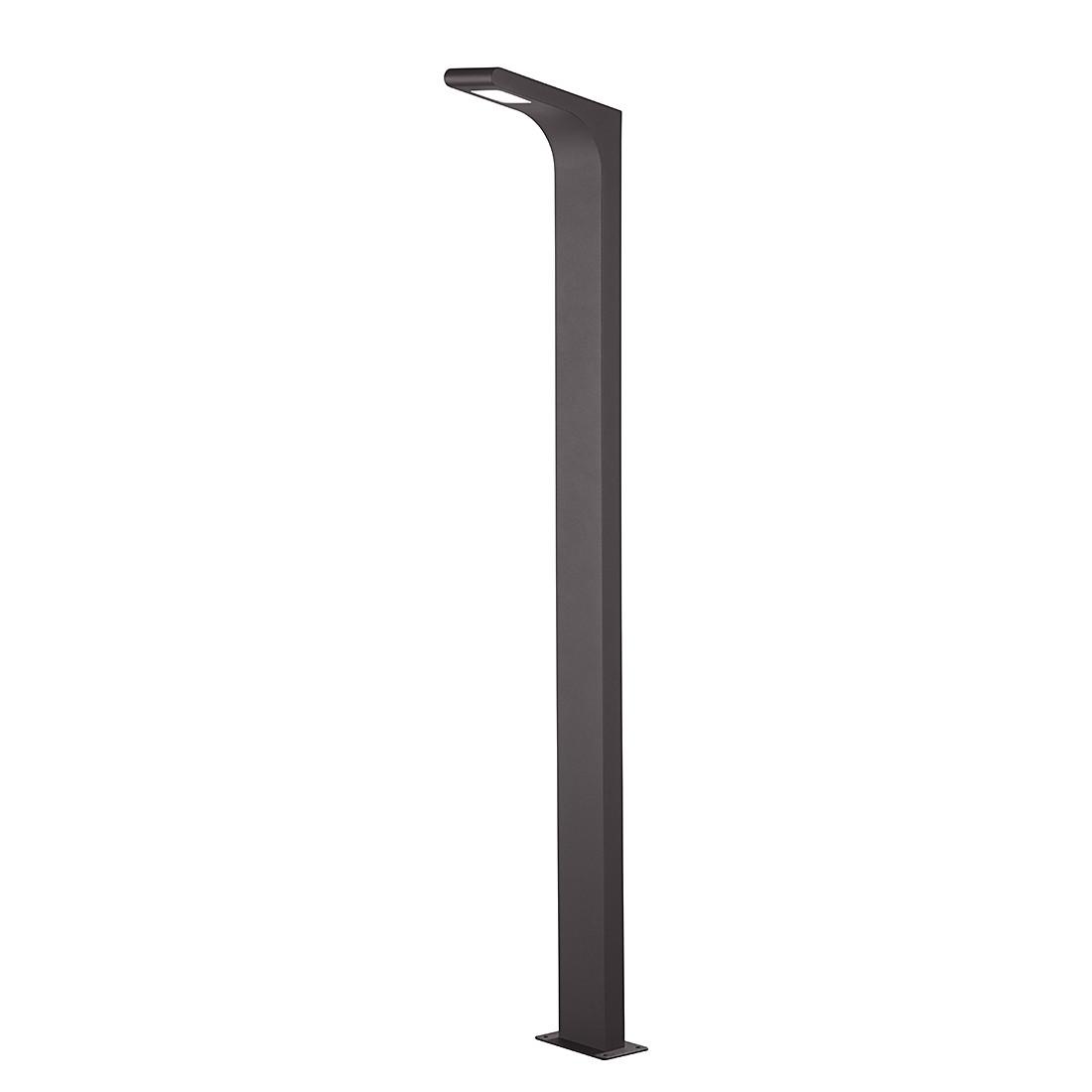 EEK A+, LED-Außenleuchte Yukon 1-flammig - Aluminium Kunststoff - Silber, Trio