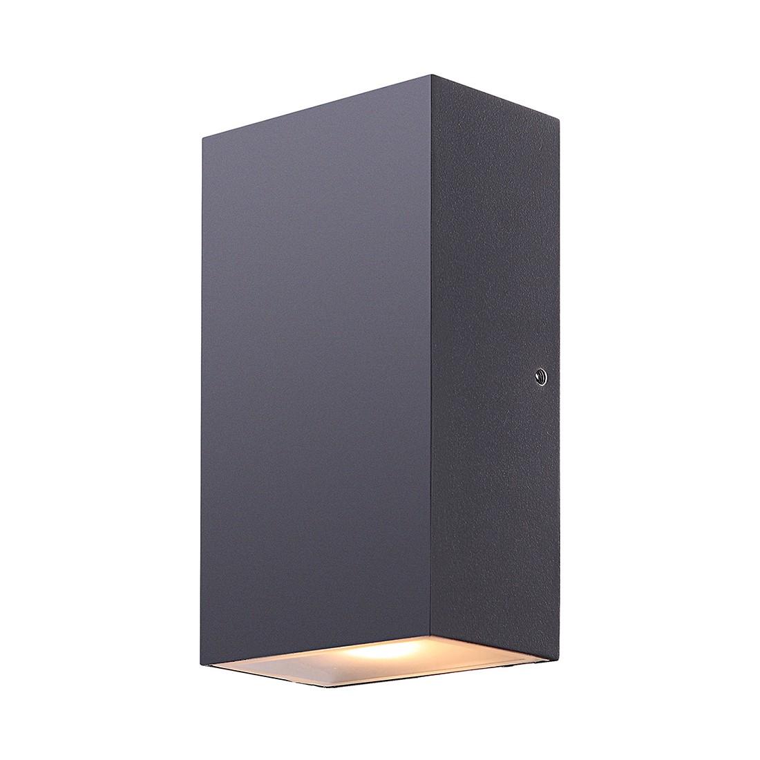 EEK A+, LED-Außenleuchte Evalia by Globo - Aluminium/Glas - Schw bei Home24 - Lampen