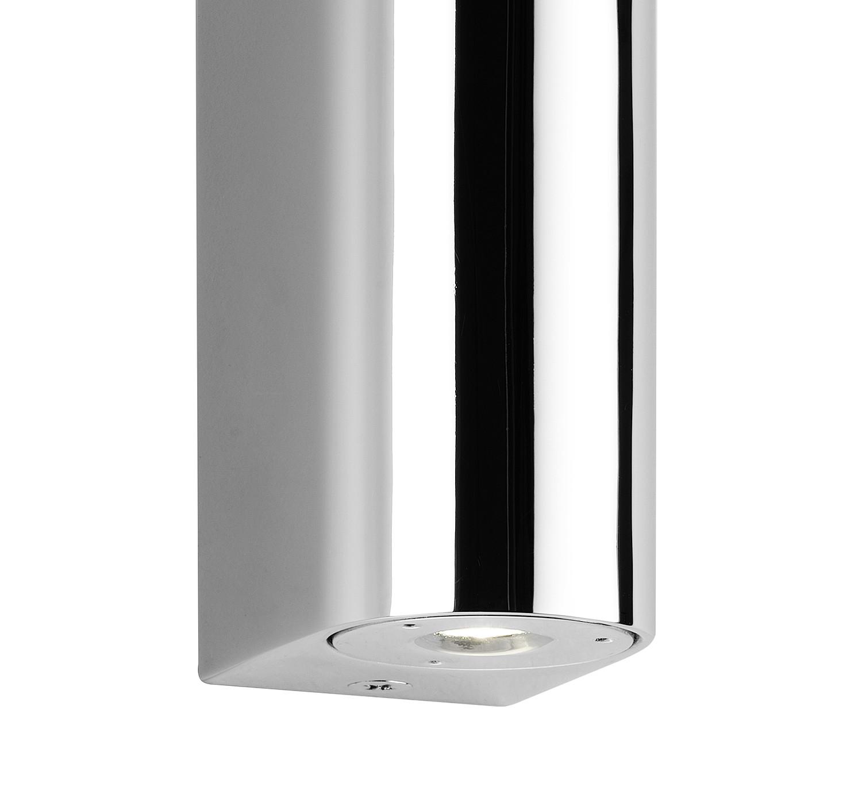 sforzin illuminazione confine cromo 2 luci lampada da. Black Bedroom Furniture Sets. Home Design Ideas