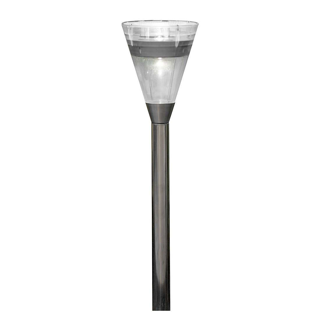 EEK A+, Außenleuchte Assisi Kegel - Kunststoff/Edelstahl - 1-flammig, Konstsmide