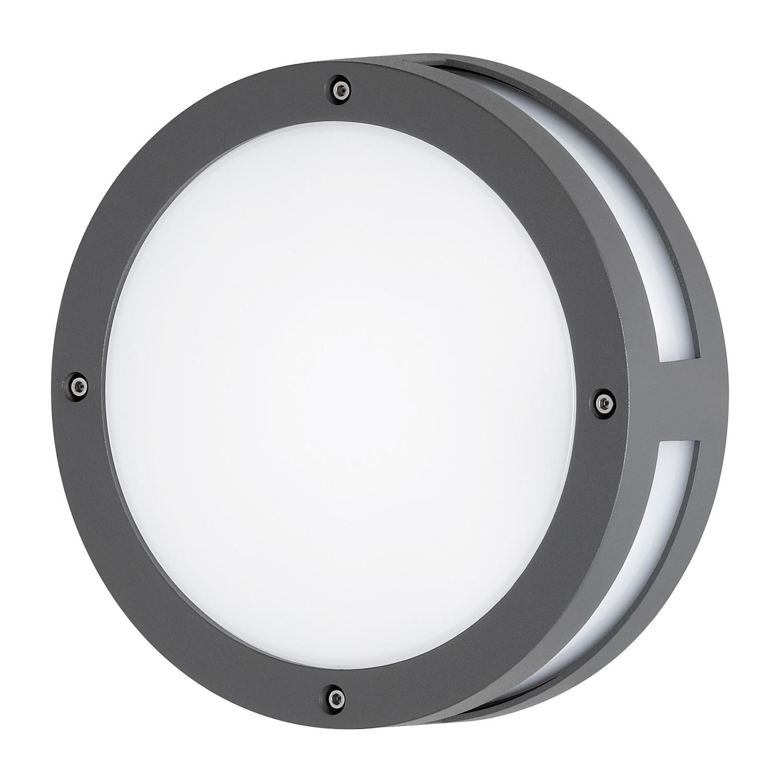 EEK A+, Außenleuchte Astoria - Grau Kunststoff, Wofi