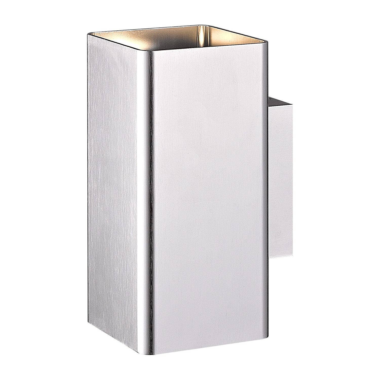 EEK A+, Außenleuchte Harris - Silber Kunststoff, Wofi