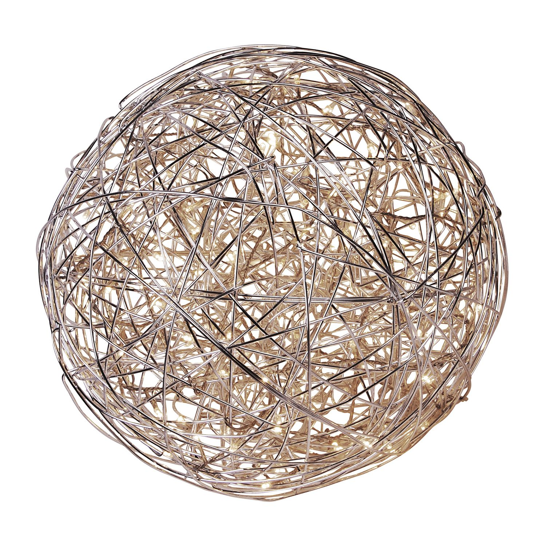 energie  A+, Buitenlamp Bol - aluminium - 50 lichtbronnen, Näve