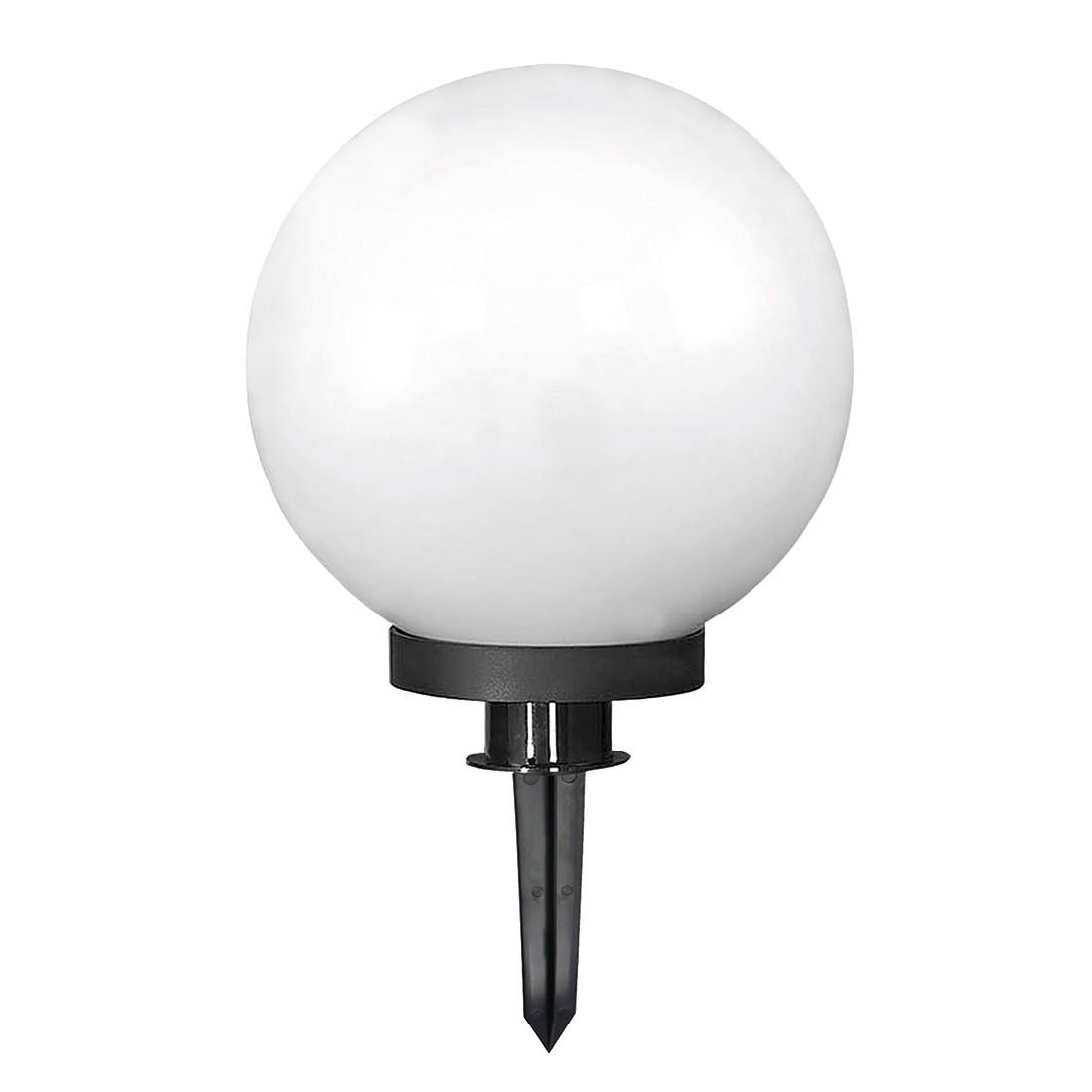 energie  A+, Buitenlamp Lüssow - plexiglas - wit/grijs - 1 lichtbron, FLI Leuchten