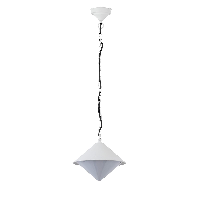 energie  A++, Buitenlamp Manhattan - metaal wit 1 lichtbron, Action