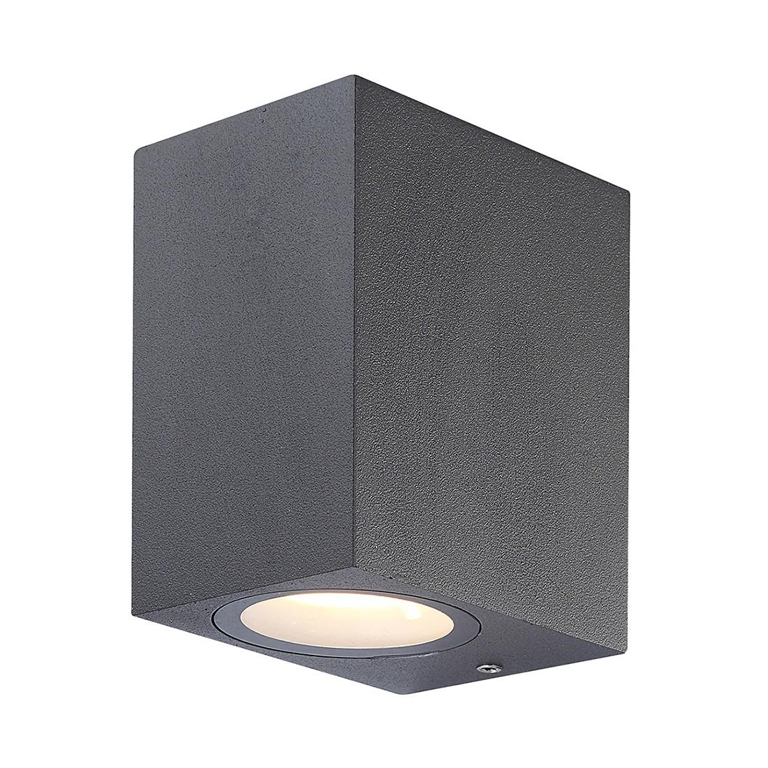 EEK A+, LED-Außenleuchte Skathi by Globo - Aluminium/Glas - Grau, Globo Lighting