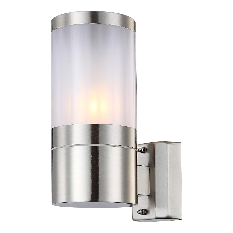 energie  A++, Buitenlamp Xeloo I - kunststof/roestvrij staal - 1, Globo Lighting