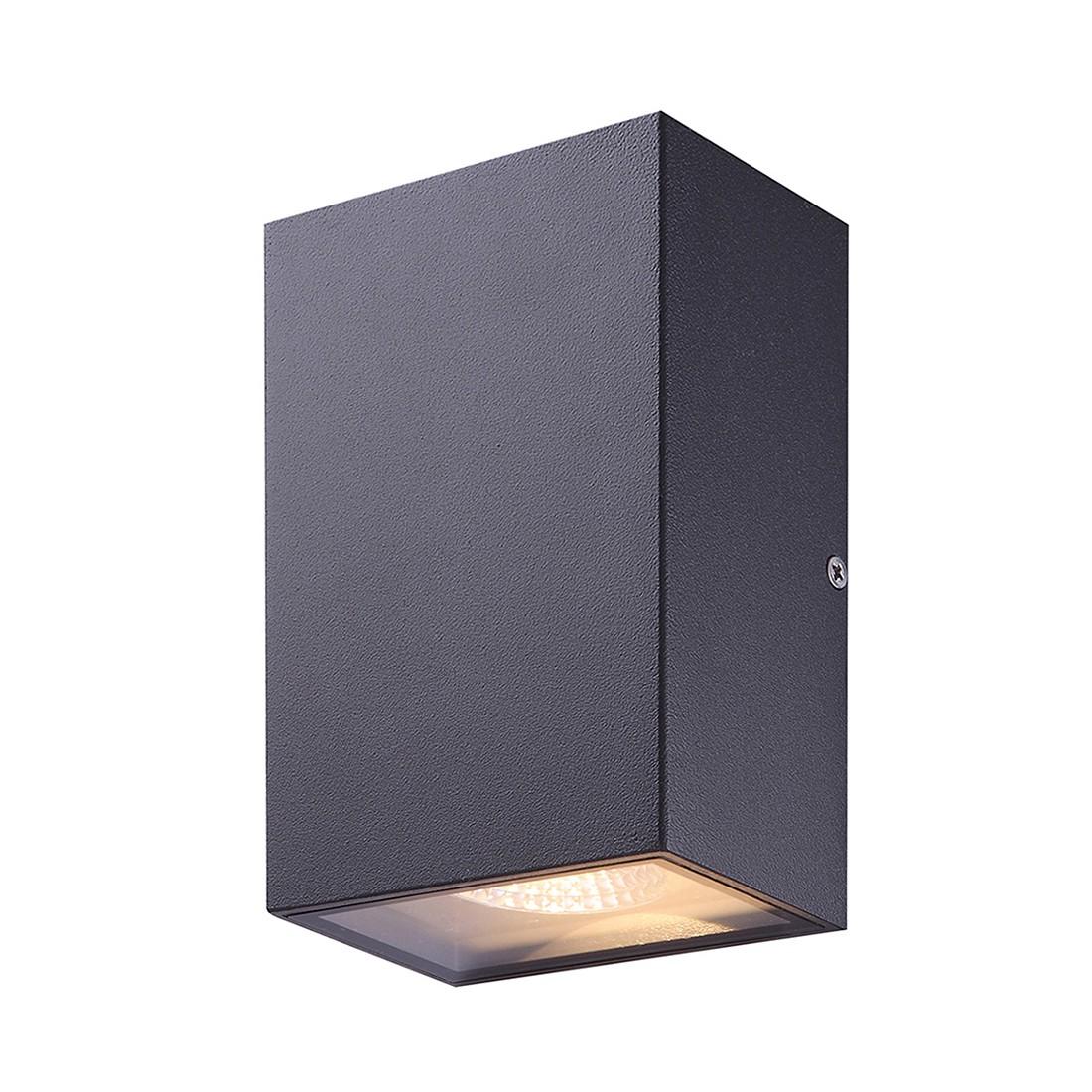 EEK A+, LED-Außenleuchte Yuan by Globo - Aluminium/Glas - Grau, Globo Lighting
