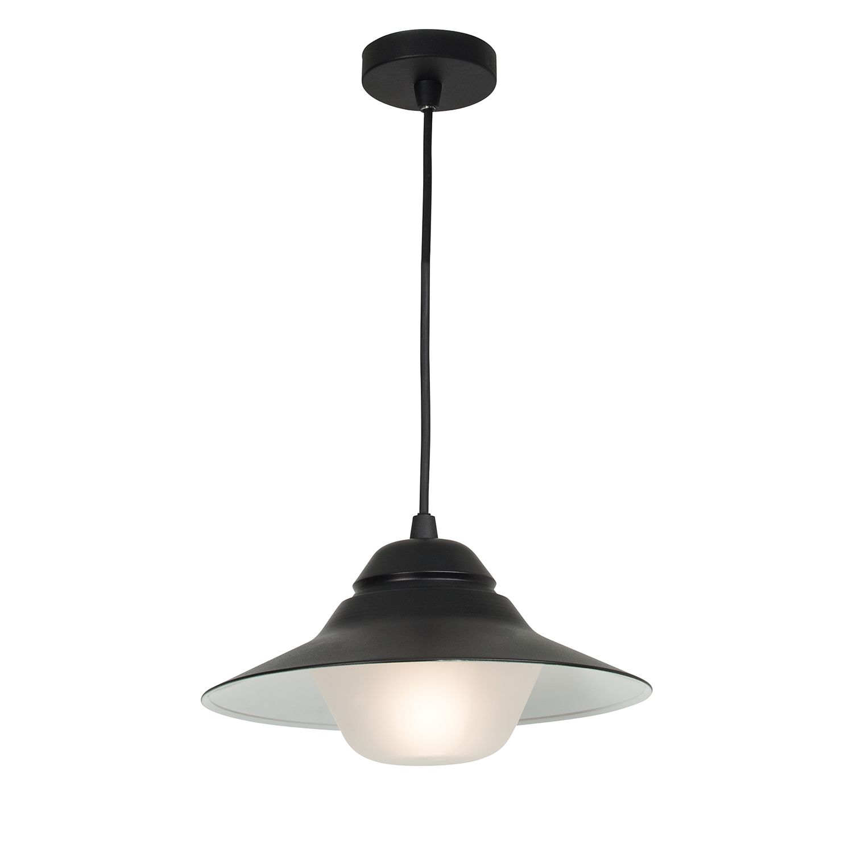 energie  A++, Buitenlamp Malmö - aluminium antracietkleurig 1 lichtbron, Brilliant