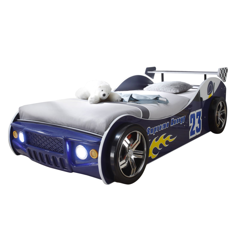 EEK A+, Lit voiture Energy - Bleu, mooved