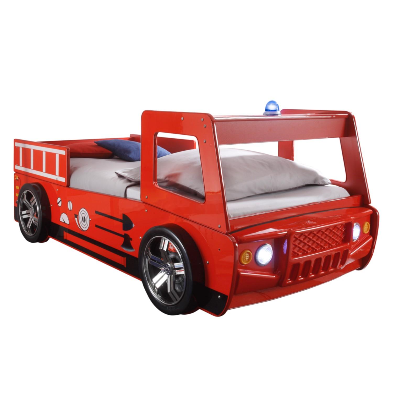 EEK A+, Lit voiture Spark - Rouge, mooved