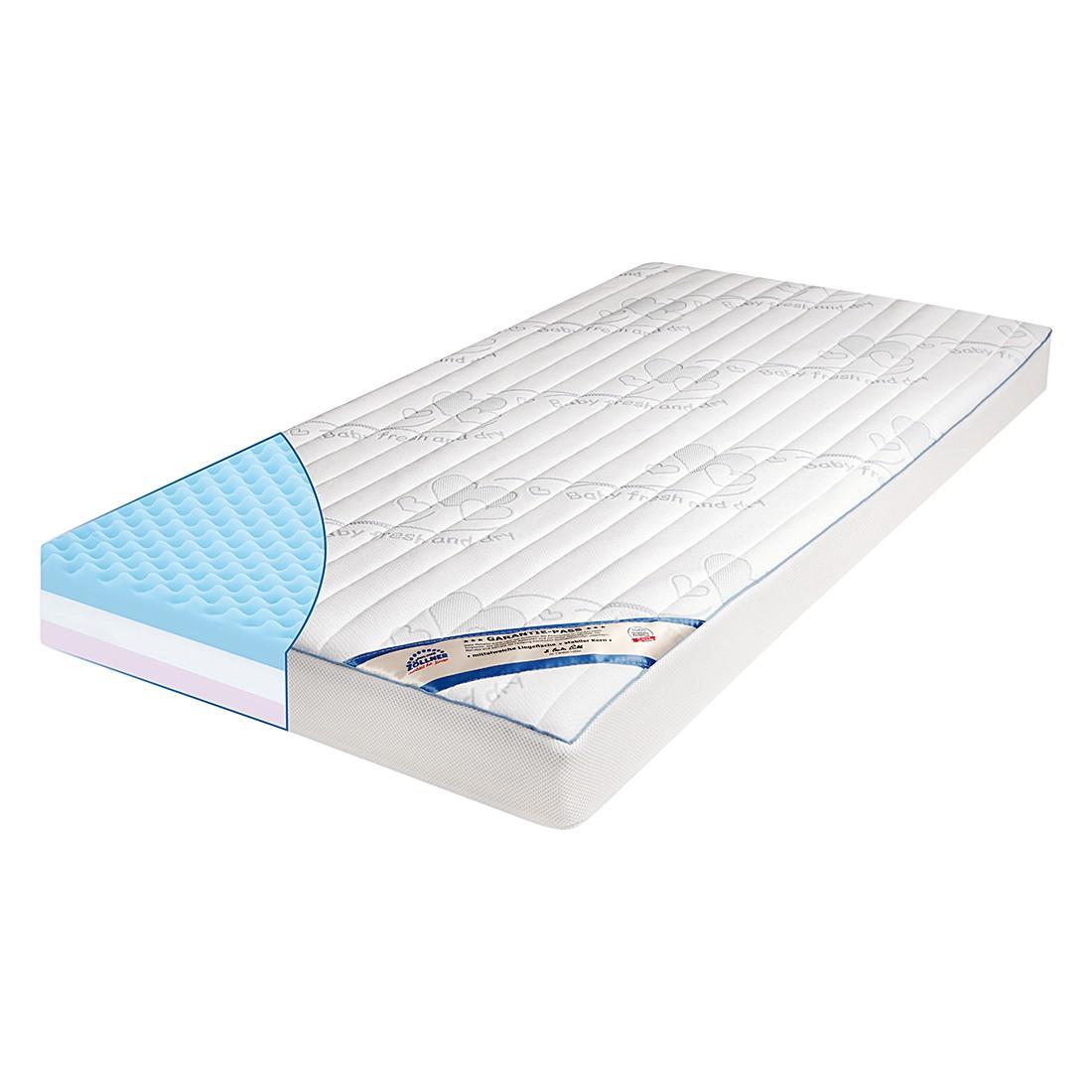 Materasso in schiuma a freddo per bimbi Dr. Lübbe Air Plus Dryfeel - Superficie letto: 70 x 140 cm, Julius Zöllner