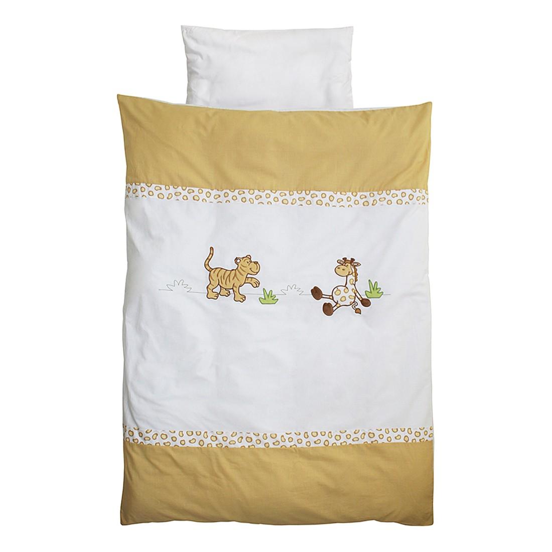 Linge de lit bébé Safari (2 éléments) - Blanc, Roba