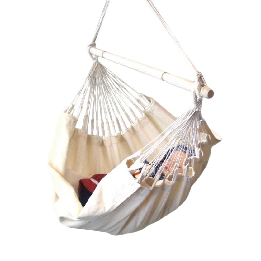 Babyhängesessel Yayita - Baumwolle Weiß, La Siesta