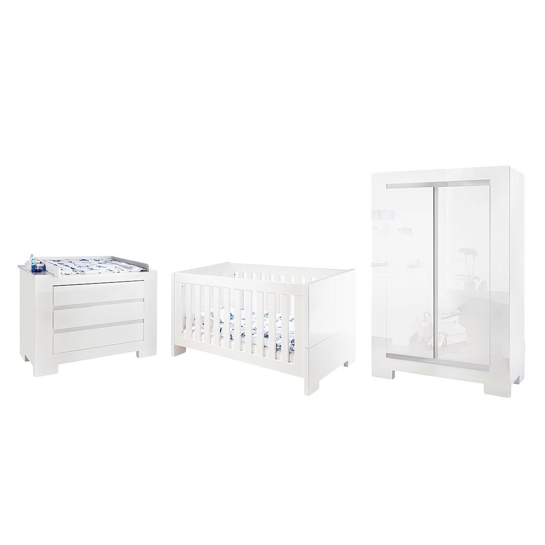 Chambre de bébé Sky Kids - Vernis blanc, Pinolino