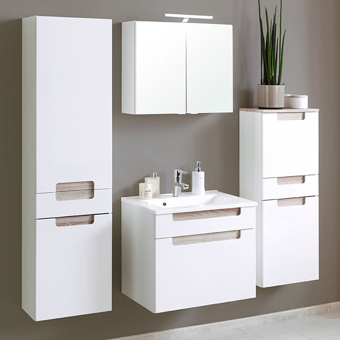 badmöbel-sets 3 teilig | entdecke dein waschtisch-set online | home24, Badezimmer ideen