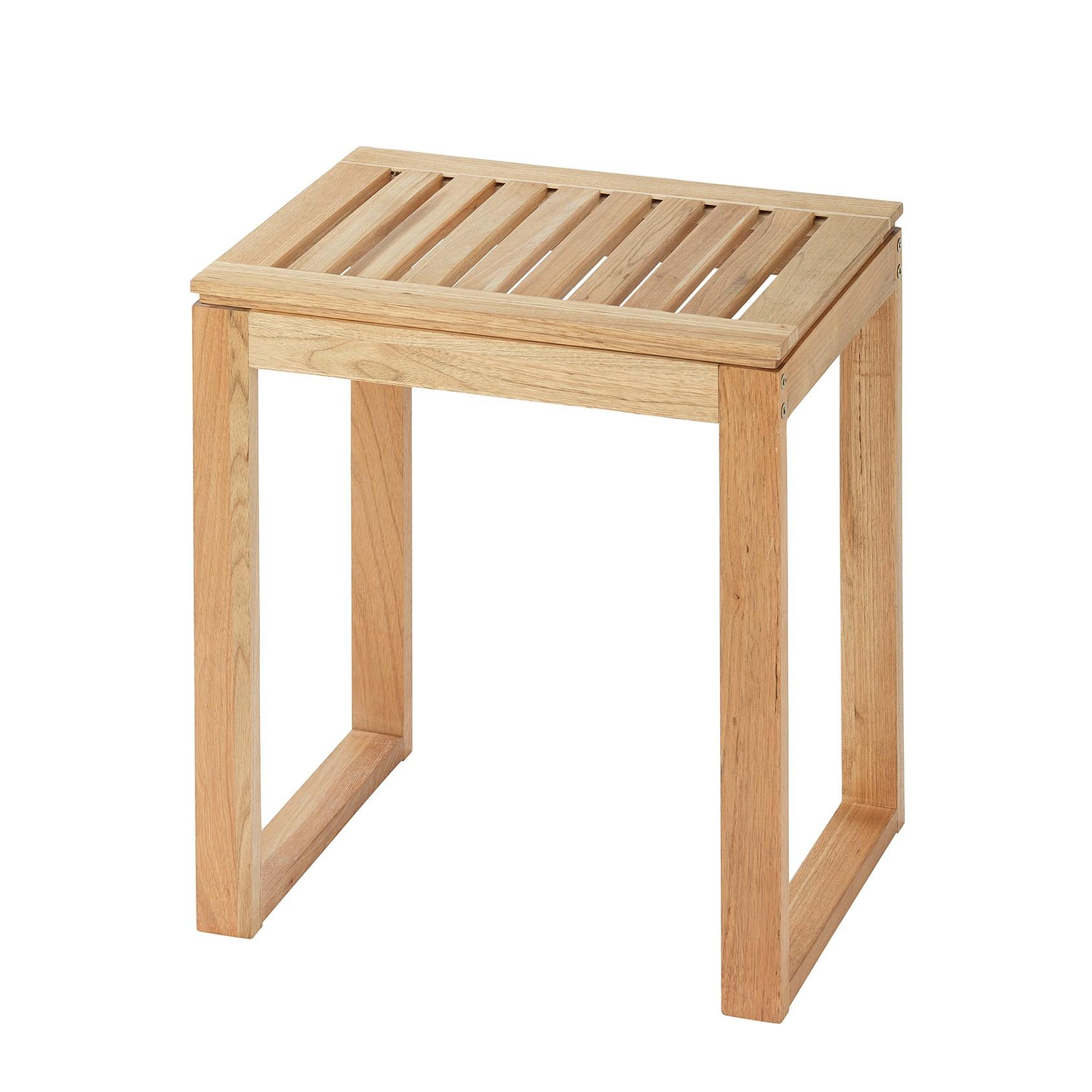 Homegarden sgabello legno massello 70 cm prezzi sconti vidaxl - Sgabello legno bagno ...