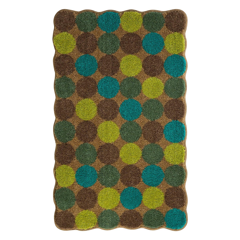 Home 24 - Tapis de bain agarthi - vert / bleu - 70 x 120 cm, grund