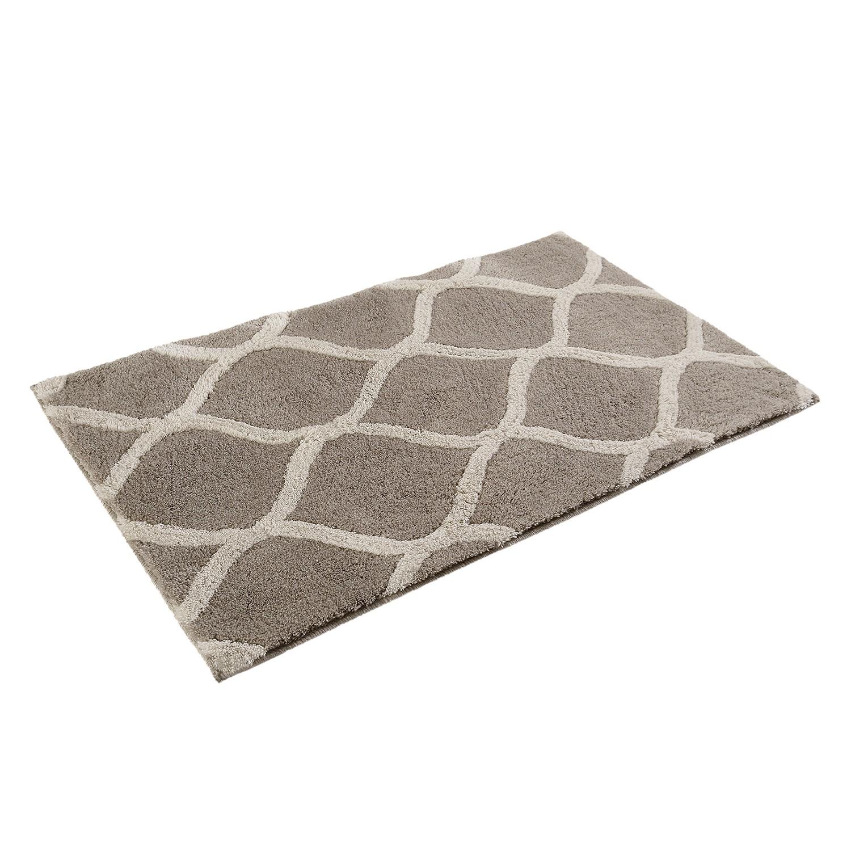 Badmat Oriental Tile - kunstvezel - Grijs/beige - 60x100cm, Esprit