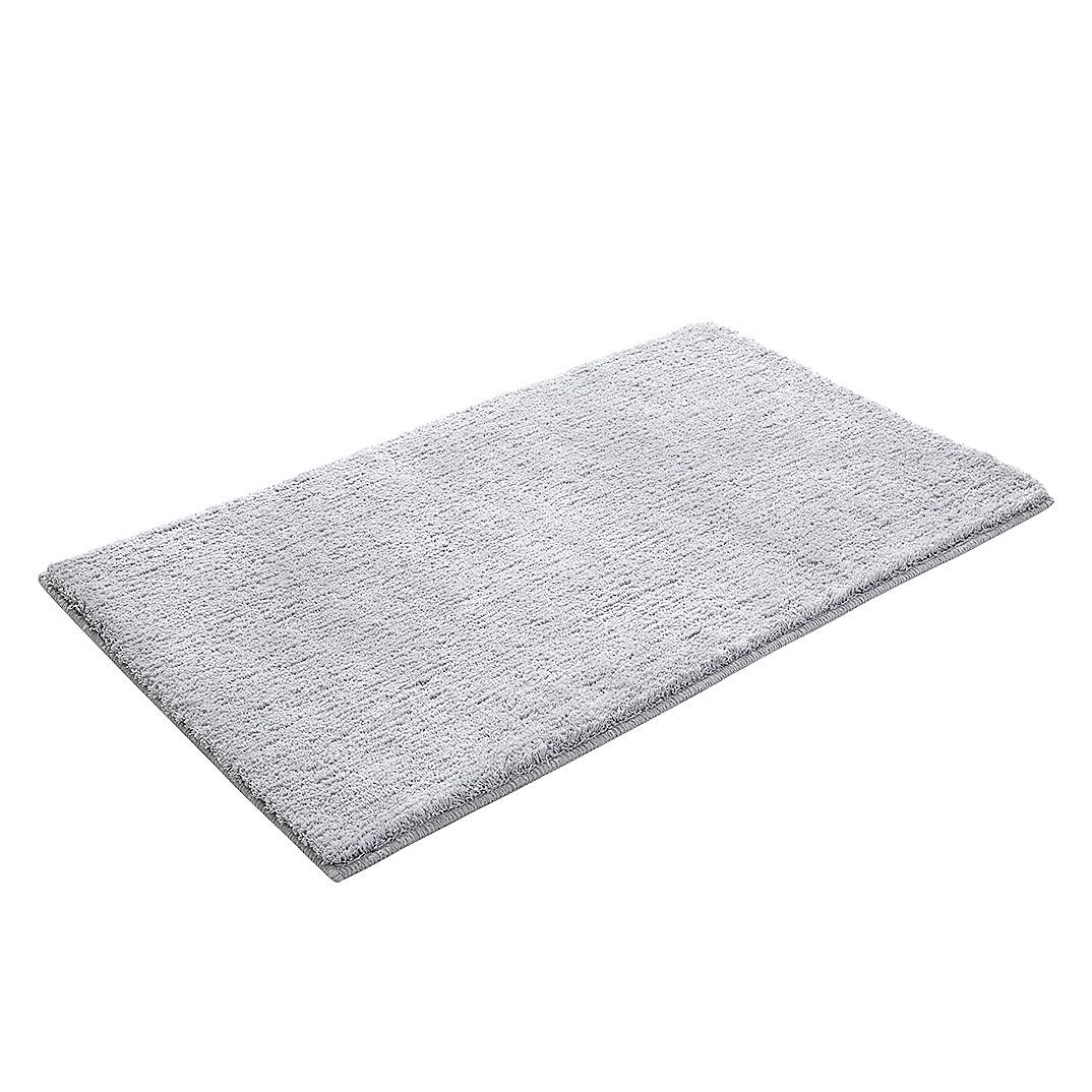 Home 24 - Tapis de bain softy - fibres synthétiques - gris clair - 70 x 120 cm, esprit home