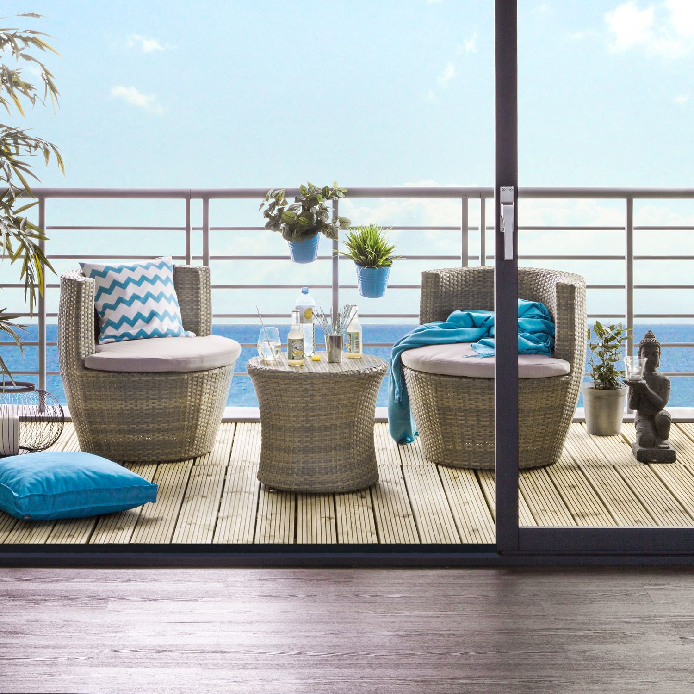 10 sparen balkonset pooly 3 teilig von maison belfort nur 329 99 cherry m bel home24. Black Bedroom Furniture Sets. Home Design Ideas