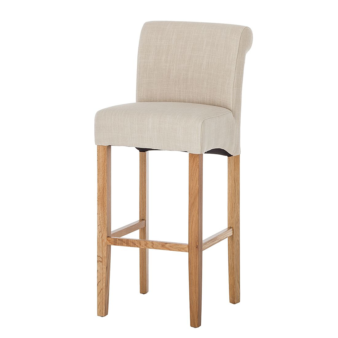 Barhocker reno webstoff beige ars natura g nstig for Barhocker shop