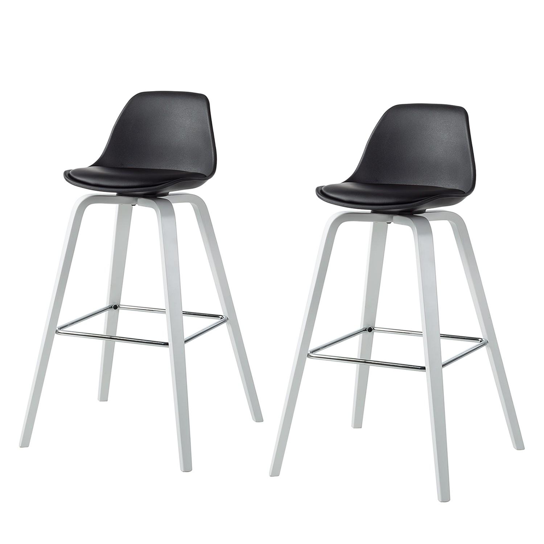 2er set modoform barstuhl malte schwarz statt preise und angebote mooved. Black Bedroom Furniture Sets. Home Design Ideas