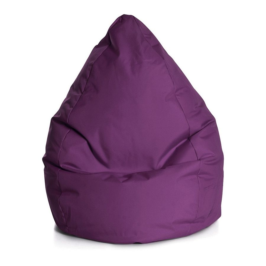 Sitzsack Bean Bag Brava - XL - Flachgewebe - Beere, SITTING POINT