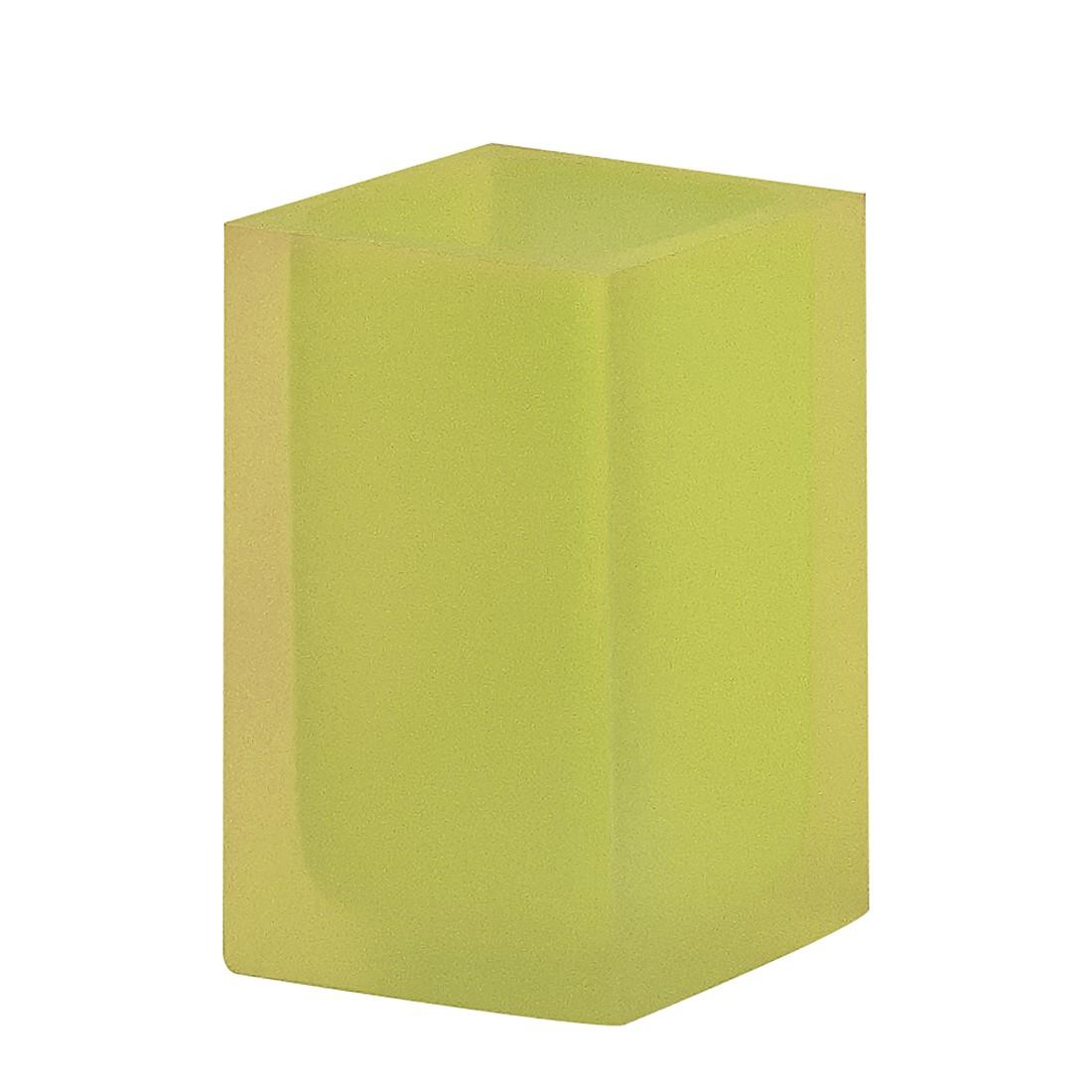 Beker Cube - Limegroen, Nicol Wohnausstattungen