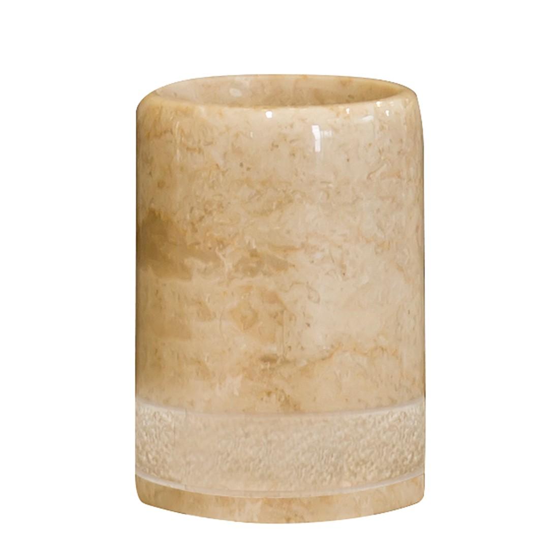 Home 24 - Gobelet de salle bain julia - beige, nicol wohnausstattungen