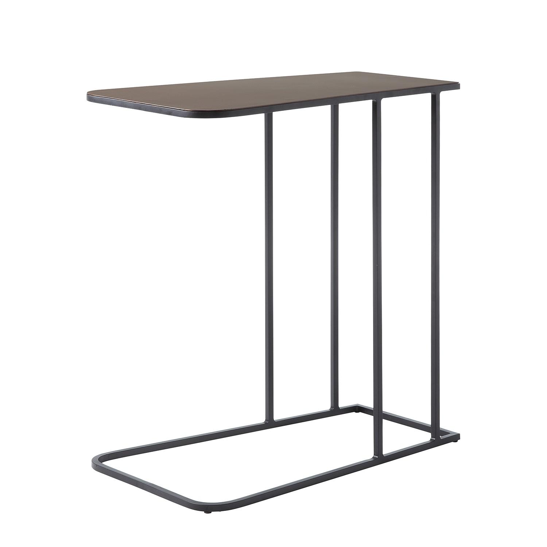 Table d'appoint Alvita - Métal - Cuivre / Noir, ars manufacti