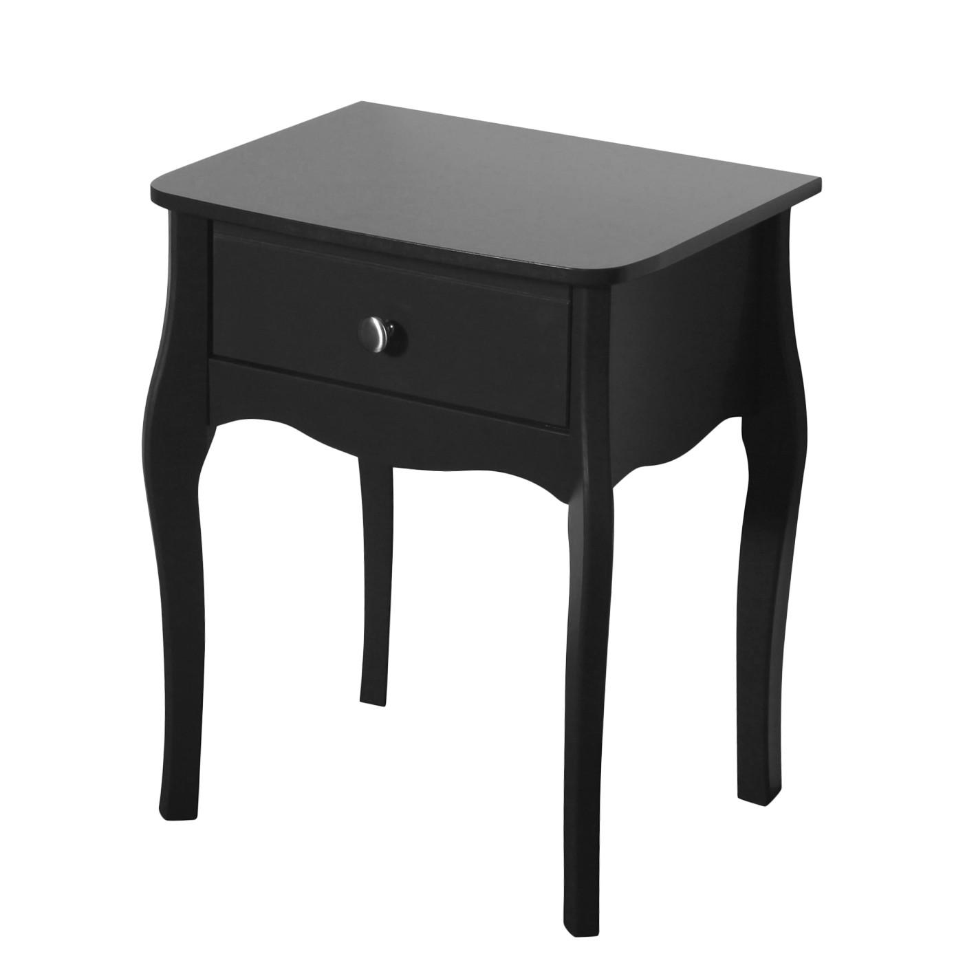 Tavolino Baroque - Nero brunastro, Steens